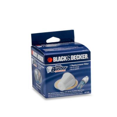Black Amp Decker 174 Replacement Filter Bed Bath Amp Beyond