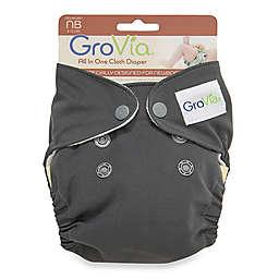 GroVia® Newborn All-in-One Cloth Diaper in Cloud