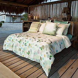 Belle Epoque Home Concept Bubbly European Pillow Sham in Dots