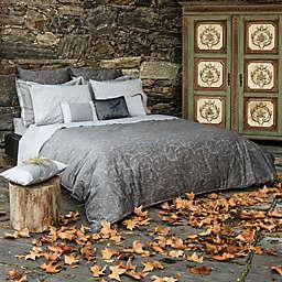 Belle Epoque Home Concept Rainfall Pillow Sham in Grey
