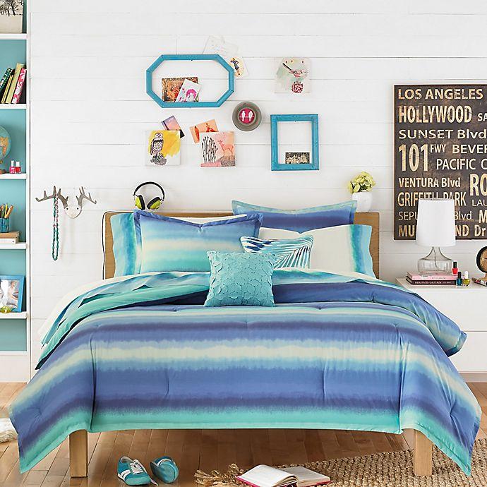 Teen Vogue® Electric Beach Comforter Set in Blue/Green