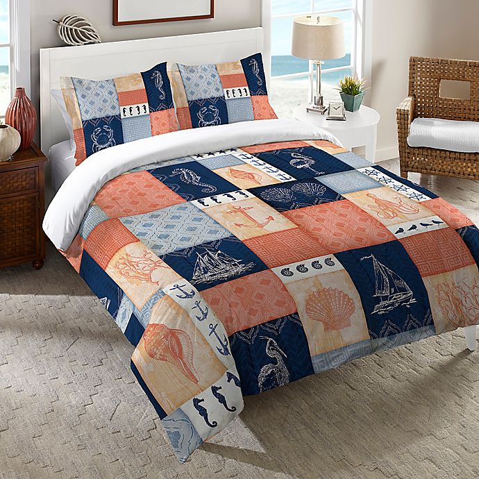 Alternate image 1 for Laural Home® Coastal Bedding Collection
