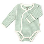 Tadpoles™ by Sleeping Partners Size 6-9M Organic Cotton Long Sleeve Kimono Bodysuit in Sage