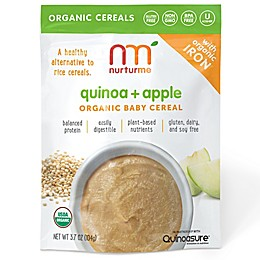 NurturMe 3.7 oz. Quinoa + Apple Organic Baby Cereal