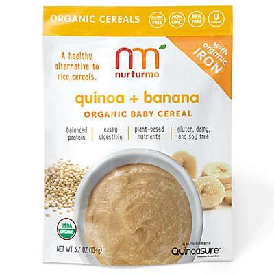 NurturMe 3.7 oz. Quinoa + Banana Organic Baby Cereal