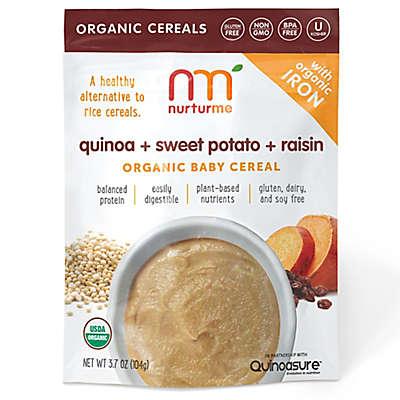 NurturMe 3.7 oz. Quinoa + Sweet Potato + Raisin Organic Baby Cereal