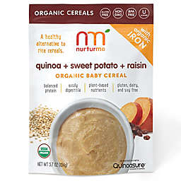 NurturMe 3.7 oz. Quinoa + Sweet Potato + Raisin Organic Baby Cereal