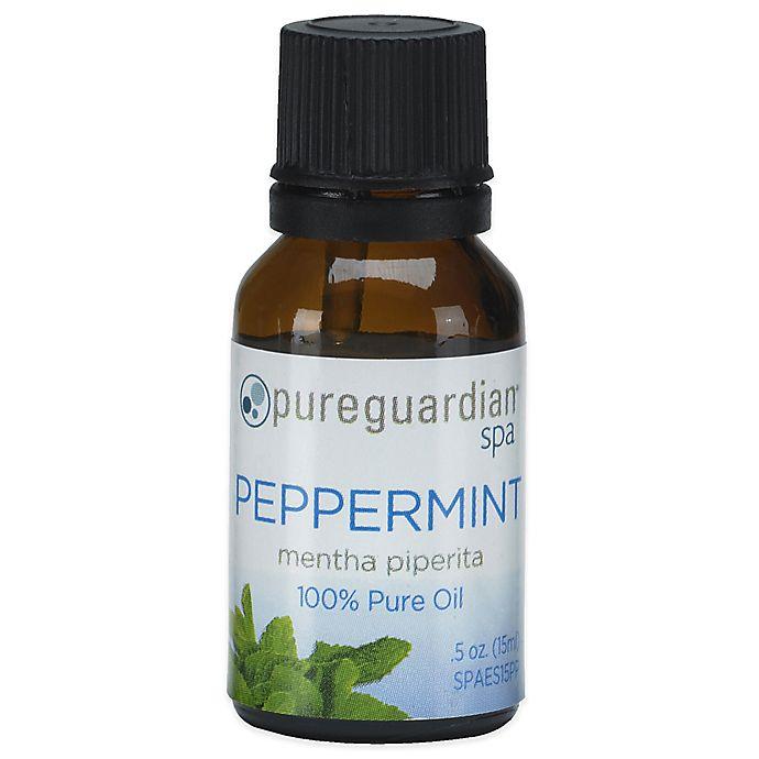 Alternate image 1 for PureGuardian® 0.5 oz. Pure Peppermint Spa Oil