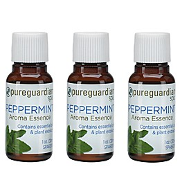 PureGuardian® 3-Pack 1 oz. Peppermint Aroma Essence Oil