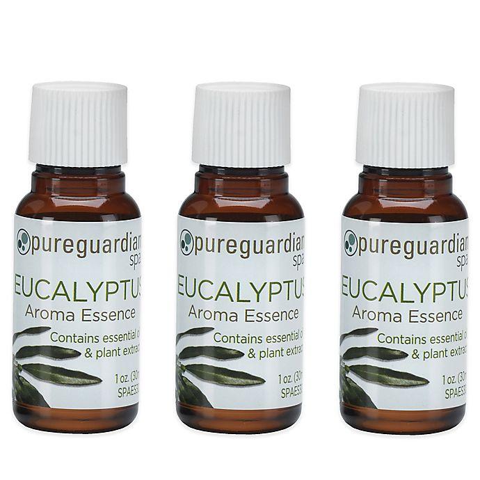 Alternate image 1 for PureGuardian® 3-Pack 1 oz. Eucalyptus Aroma Essence Oil