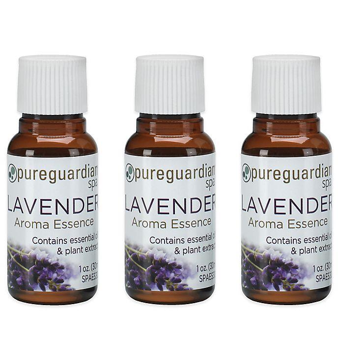 Alternate image 1 for PureGuardian® 3-Pack 1 oz. Lavender Aroma Essence Oil