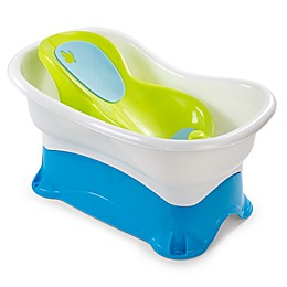Summer Infant® Right Height Bath Tub in Green/White/Blue