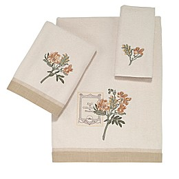 Avanti Alana Bath Towel Collection in Ivory