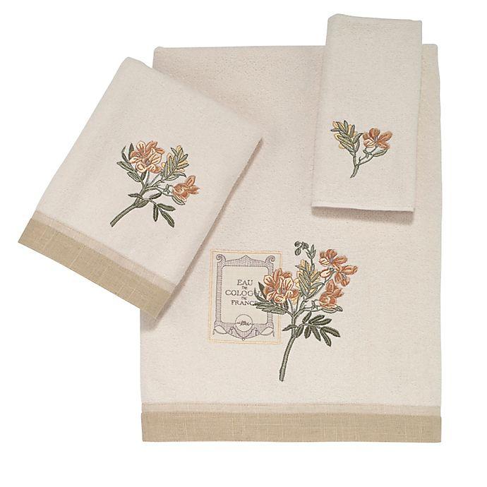 Alternate image 1 for Avanti Alana Bath Towel in Ivory