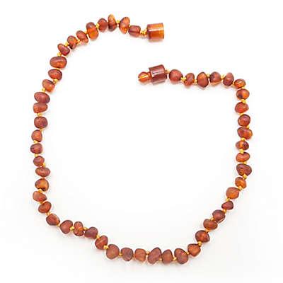 Healing Hazel Baltic Amber 11-Inch Baby Necklace in Raw Cognac
