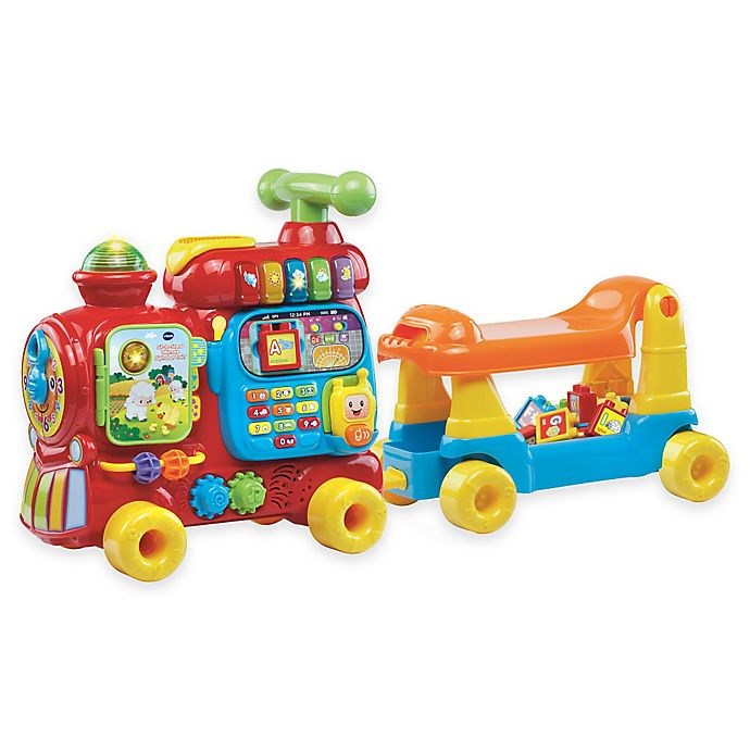 Alternate image 1 for VTech® Sit-to-Stand Ultimate Alphabet Train