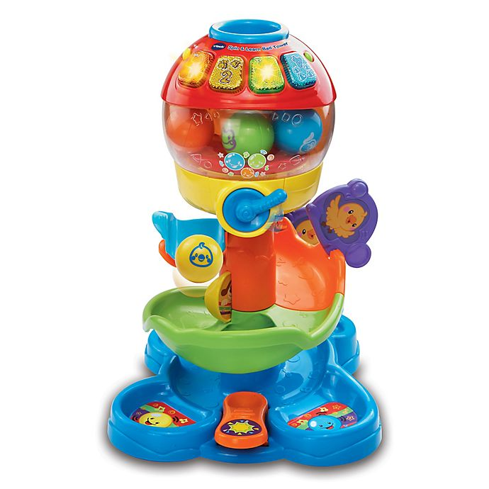 Alternate image 1 for VTech® Spin and Learn Ball Tower