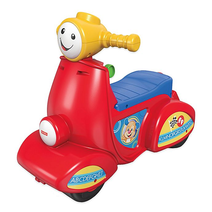 Alternate image 1 for Fisher-Price® Laugh and Learn™ Smart Stages™ Scooter