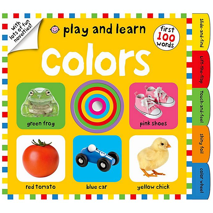 Alternate image 1 for Play and Learn: Colors Board Book by Roger Priddy