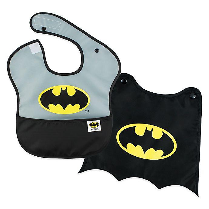 Alternate image 1 for Bumkins® DC Comics™ Batman 2-Piece SuperBib Set with Cape
