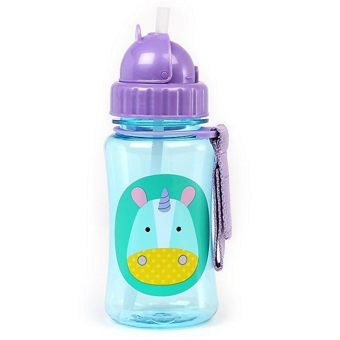 Alternate image 1 for SKIP*HOP® Zoo Unicorn Straw Bottle