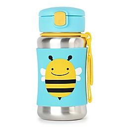 SKIP*HOP® Zoo Bee Stainless Steel Straw Bottle