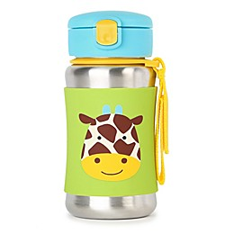 SKIP*HOP Zoo Giraffe Stainless Steel Straw Bottle