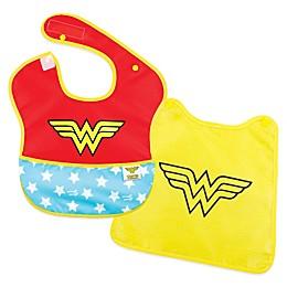 Bumkins® DC Comics™ 2-Piece Wonder Woman SuperBib with Cape