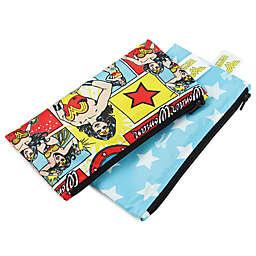 Bumkins® DC Comics 2-Pack Wonder Woman Reusable Snack Bags