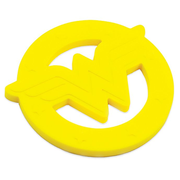 Alternate image 1 for Bumkins® DC Comics Silicone Wonder Woman Teether