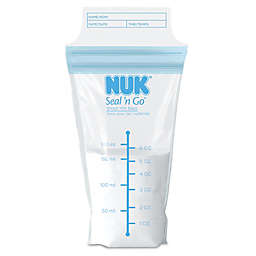 NUK® Seal 'n Go 100-Pack 6 oz. Breastmilk Storage Bags