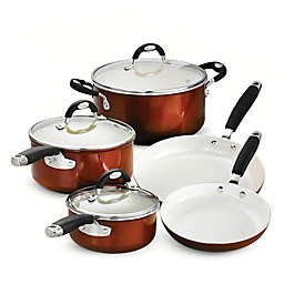 Tramontina® Style Ceramica Metallic Copper 8-Piece Cookware Set