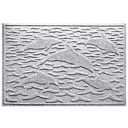 Weather Guard™ 23-Inch x 35-Inch Porpoise Mat