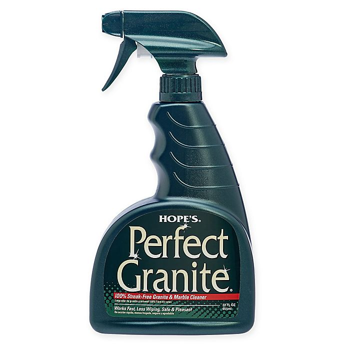 Alternate image 1 for Hope's Perfect 22-Ounce Granite Cleaning Spray