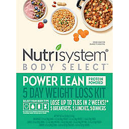 Nutrisystem® Body Select™ Power Lean 5-Day Weight Loss Kit