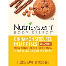 Nutrisystem® Morning Mindset™ 4-Count Cinnamon Streusel Muffins