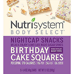 Nutrisystem Body Select 5-Count Birthday Cake Nite Caps