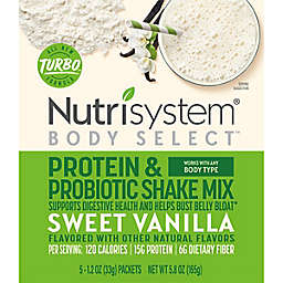 Nutristystem® Body Select™ 5-Count Protein & Probiotic Shake Mix in Vanilla