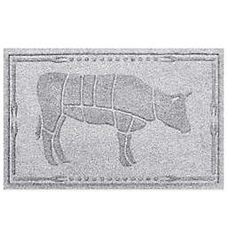 Weather Guard™ 23-Inch x 35-Inch Cow BBQ Mat