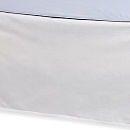 Kenneth Cole Reaction Home Etched Bed Skirt in Ivory