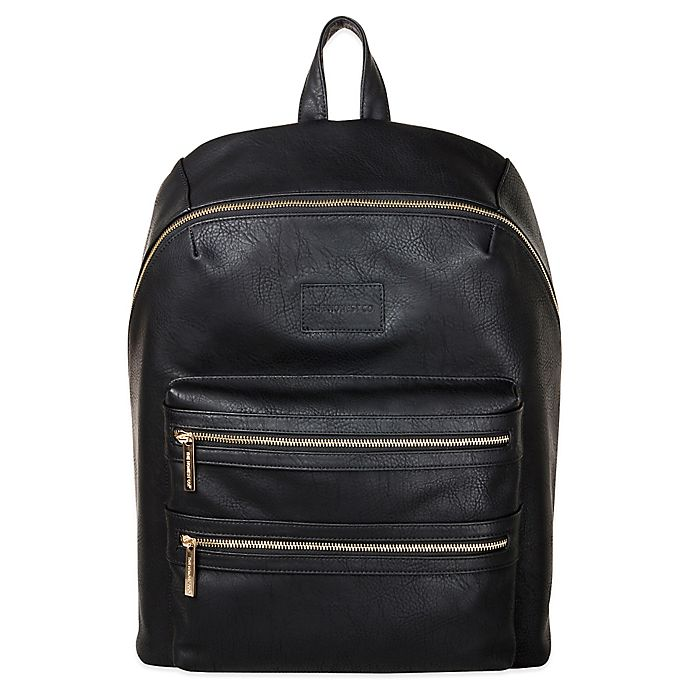 Alternate image 1 for Honest City Backpack Diaper Bag in Black