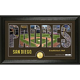MLB Silhouette Panoramic Photo Mint Collection