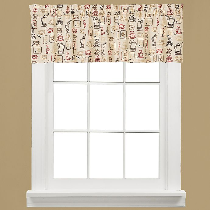 Buy Breaktime Kitchen Window Valance From Bed Bath & Beyond