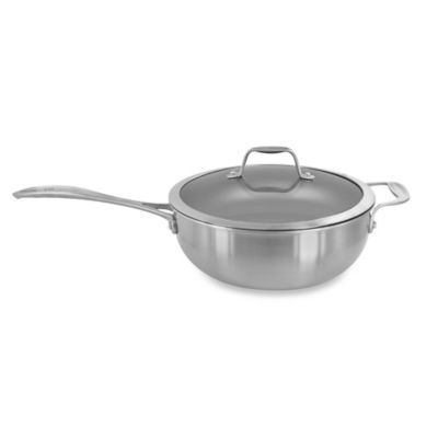Zwilling J A Henckels Spirit 4 6 Qt Nonstick Stainless Steel Covered Perfect Pan Bed Bath