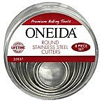 Oneida® Stainless Steel Round Cutters (Set of 8)