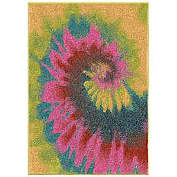 Aria Rugs Kids Court Multicolor Tie Dye Rug