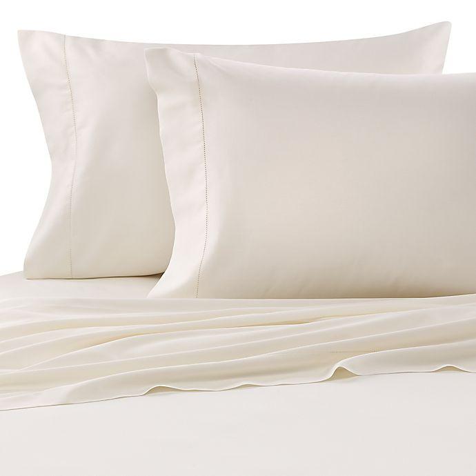 Alternate image 1 for Bellino™ Raso Standard Pillowcases in Ivory (Set of 2)
