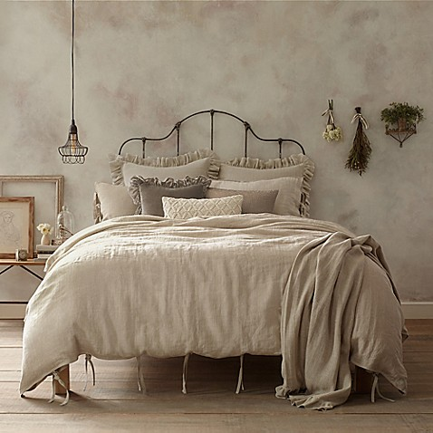 Wamsutta® Vintage Linen Duvet Cover
