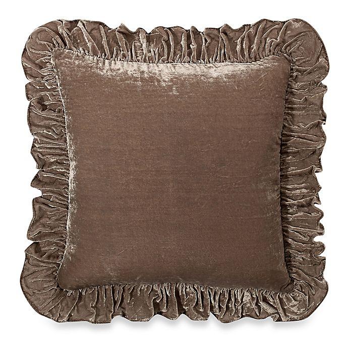 Alternate image 1 for Wamsutta® Vintage Washed Velvet Square Throw Pillow