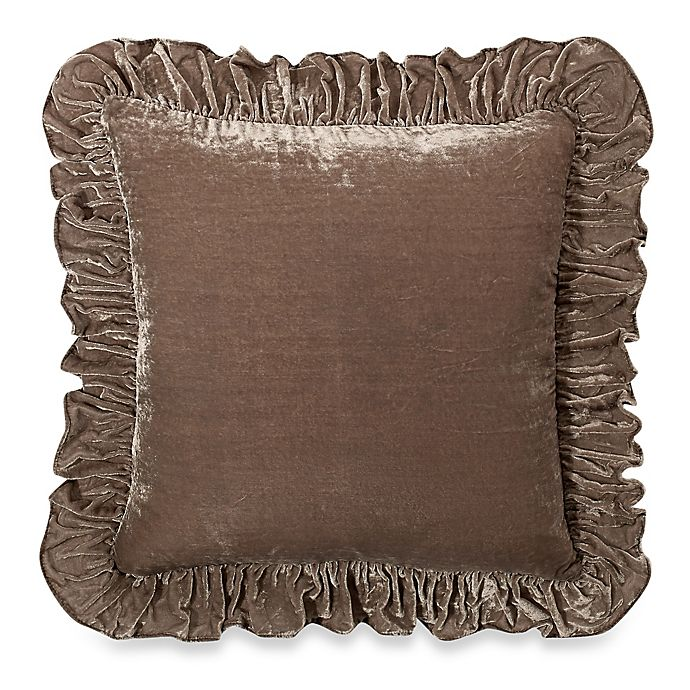 Alternate image 1 for Wamsutta® Vintage Washed Velvet Square Throw Pillow